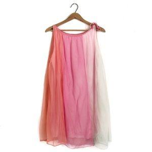 Vintage 60's Babydoll Colourblock Sheer Nightgown
